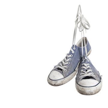 Run down shoes