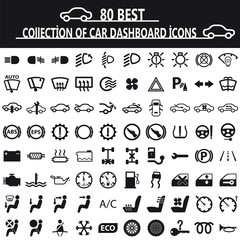 Collection of Car Dashboard icons