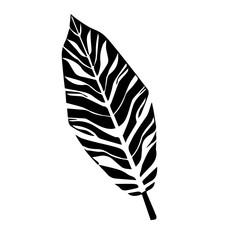 Эскиз лист папоротника