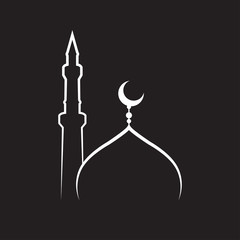 mosque vector ,mosque Icon. mosque Icon Vector. mosque Icon Art