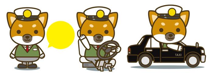はたらく犬。タクシードライバー