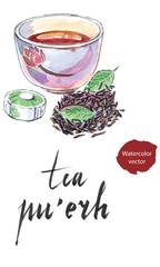 "Ripe chinese ""Puerh"" tea"