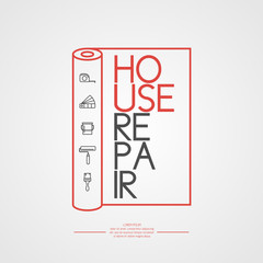 Illustration for Home repair