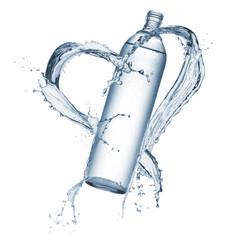 Fototapete - bottle of water