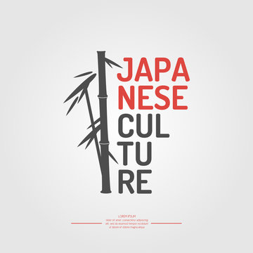 Japanese culture. The symbol of Japan - bamboo