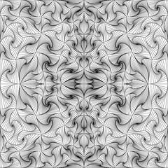 Abstract vector seamless black