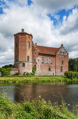Torups Castle and Moat