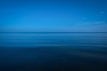 Vast ocean calm