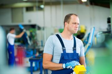 worker in factory