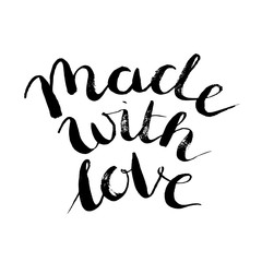 Made with love.