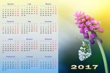 Kalendarz na 2017