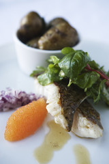 Codfish and new potatoes, Sweden.