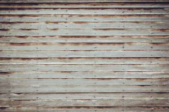 Old wood wall background retro effect