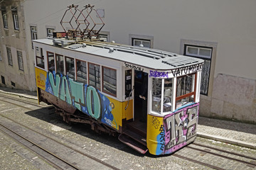 Lissabon Standseilbahn