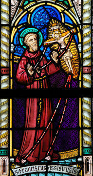 Stained Glass - St Francis of Assisi