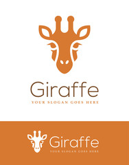 Giraffe Head Logo