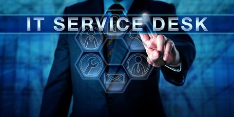 Corporate Client Pushing IT SERVICE DESK