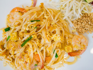 Stir-fried rice noodles, Pad Thai