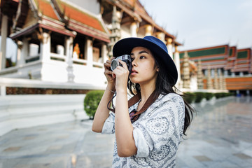 Camera Casual Asian Ethnicity Recreation City Concept