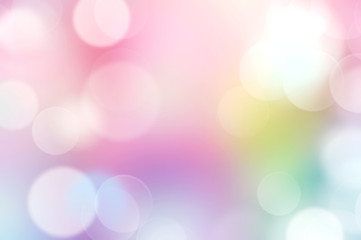 Rainbow multi colors abstract bokeh background.
