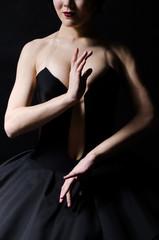 балерина с красивыми руками