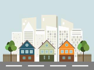 Modern City, Real Estate Concept