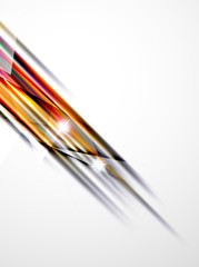 Shiny straight lines abstract background