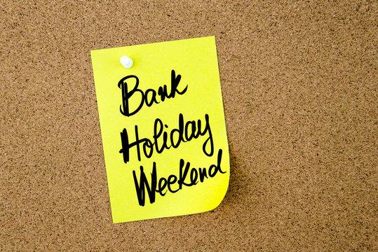 Business Acronym BHW Bank Holiday Weekend