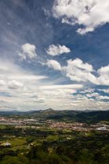 picturesque portrait of la rhune, symbol of basque country