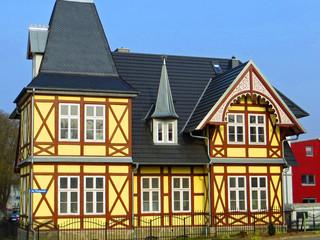 Fachwerk-Villa in Neubrandenburg