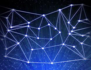 blue net web