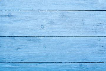 Blue texture of aged wood