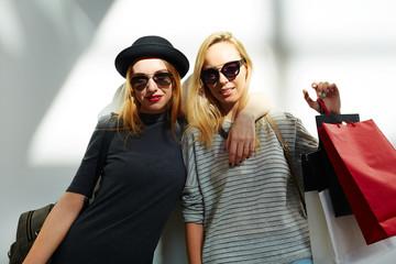 Stylish shoppers