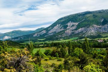 paysage des Hautes Alpes - France