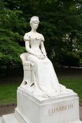 Statue der Kaiserin Elisabeth (Sisi) in Meran