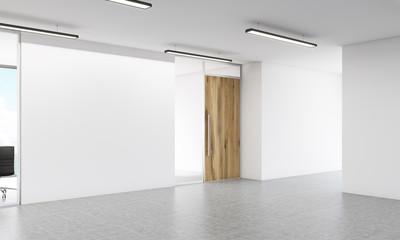 Blank wall side