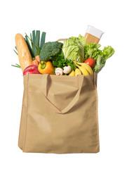 Vegetables in a ecological bag