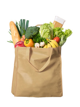 Vegetables in a ecological bag