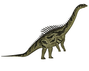 Agustinia dinosaur - 3D render