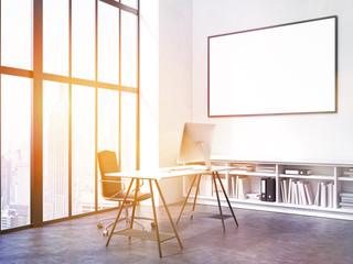 Office interior toning