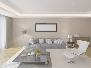 Living room with a stylish design.