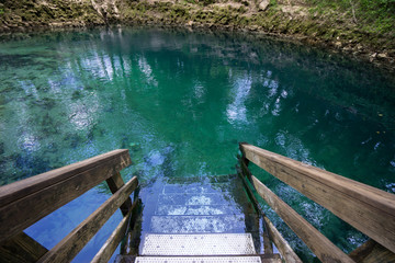 Madison Blue Springs State Park in Florida