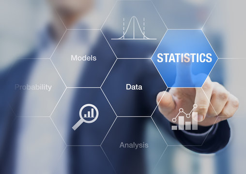 Concept about statistics, data, models and analysis