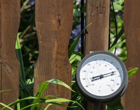 Big Round Thermometer