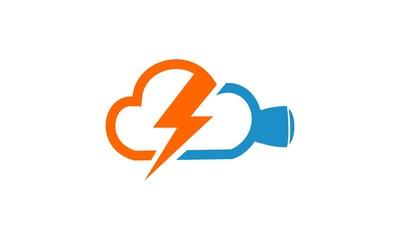 Flash Movie Lightning Logo