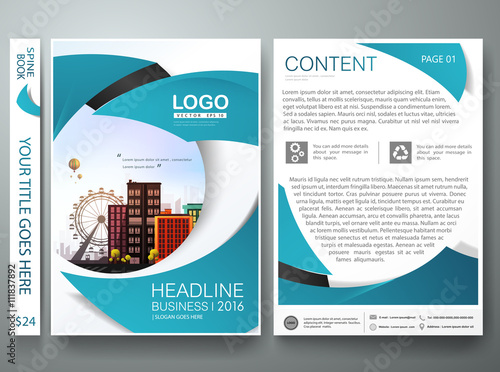 Classic Book Cover Design Template : Quot brochure design template vector flyers annual report