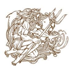 Poseidon god