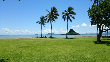 Island - chinaman's hat in Hawaii