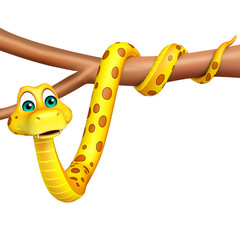 cute Snake cartoon character