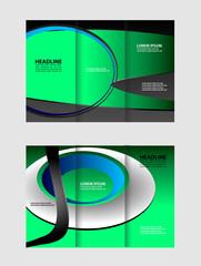 Tri-Fold Travel Mock up & Brochure Design